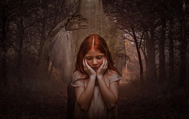 un enfant qui a peur