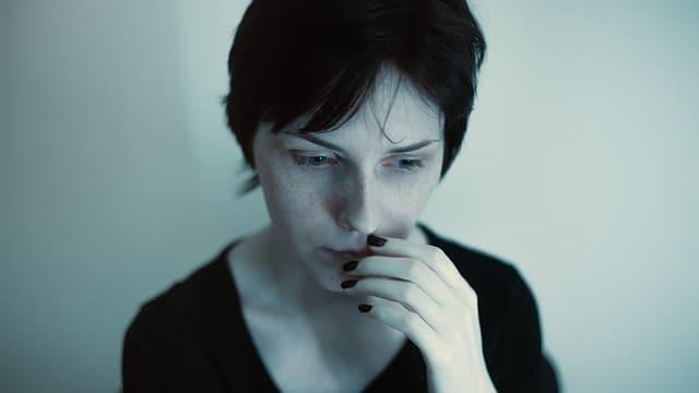 une femme qui a peur