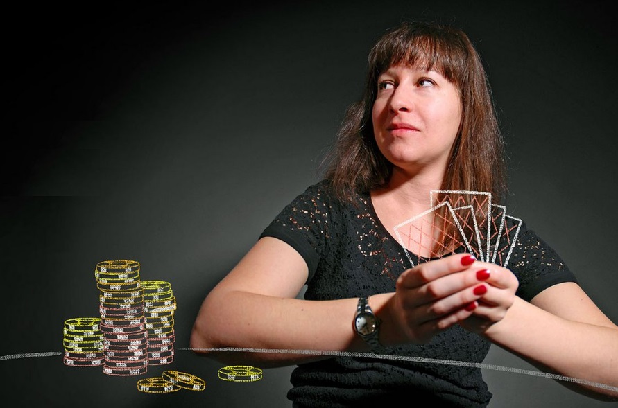 psychologie joueuse casino